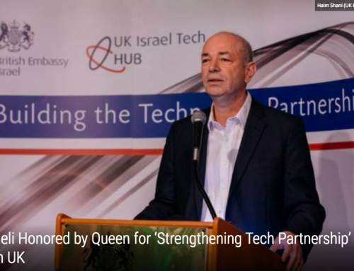 Israeli Honored by Queen for 'Strengthening Tech Partnership' with UK