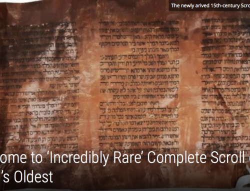 Israel Now Home to 'Incredibly Rare' Complete Scroll of Esther, One of World's Oldest